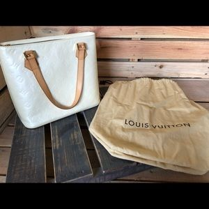 White Verni Houston Louis Vuitton